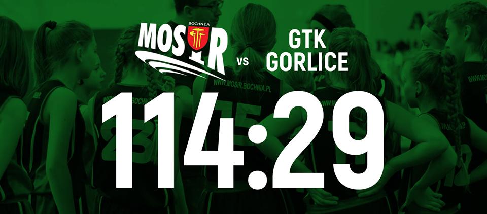 Czwarte zwycięstwo z rzędu! Wygrywamy z drużyną z Gorlic w IV kolejce ligi U13 kobiet