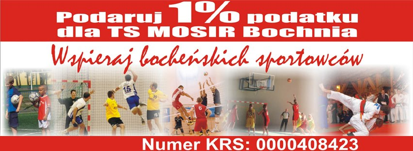 Wspieraj bocheńskich sportowców!!!