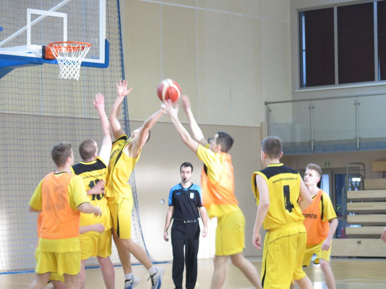 Miejskie Zawody w Koszykówce Chłopców – IMS – wyłoniły zwycięzców.