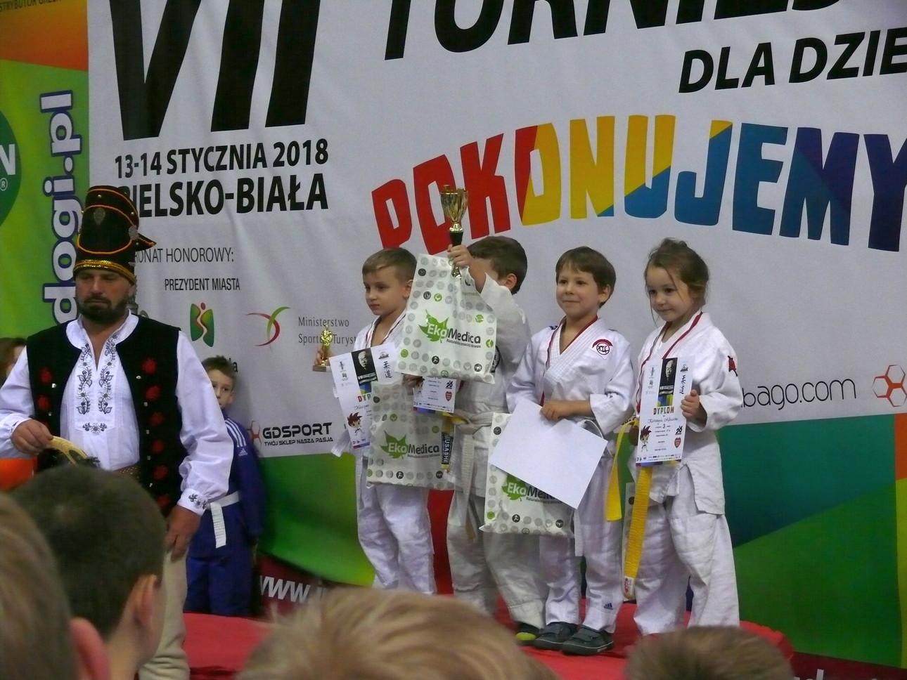 Judocy wrócili z medalami z Turnieju w Bielsku- Białej.