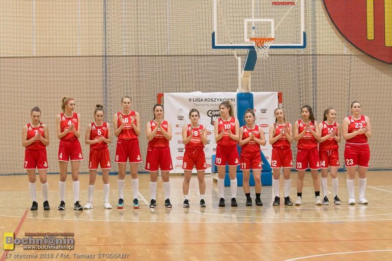 II liga – w sobotę Contimax MOSiR podejmuje La-Basket/ NA ŻYWO – Bochnianin.pl