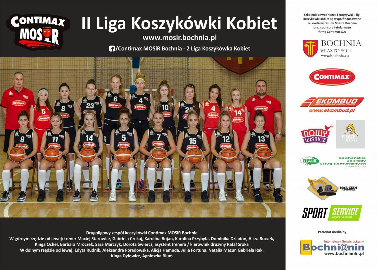 La-Basket Piekary Śląskie – Contimax MOSiR Bochnia 74 : 64 / II liga koszykówki kobiet