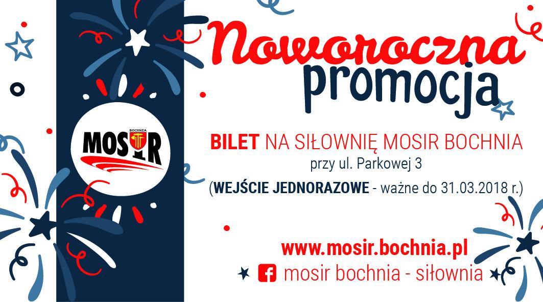 Promocja na siłownię MOSiR Bochnia!