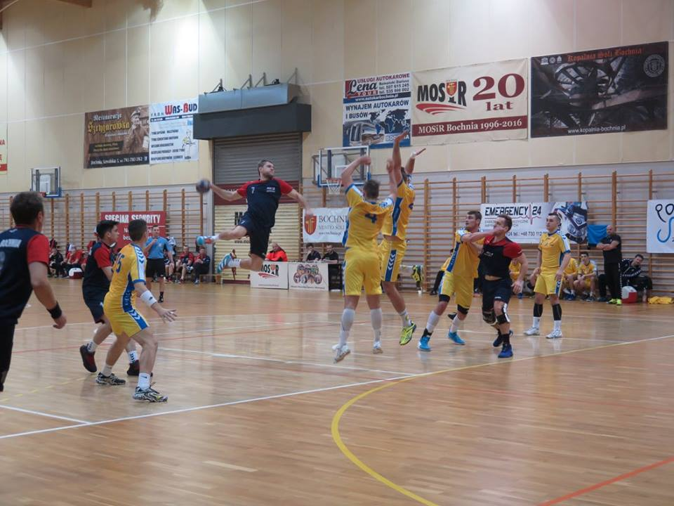 MOSiR Bochnia – PGE VIVE II Kielce 25:24 (10:15) / II liga piłki ręcznej