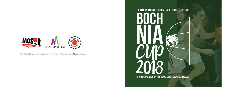Program IX Międzynarodowego Festiwalu Koszykówki Dziewcząt Bochnia CUP 23 – 25.02. 2018 r.