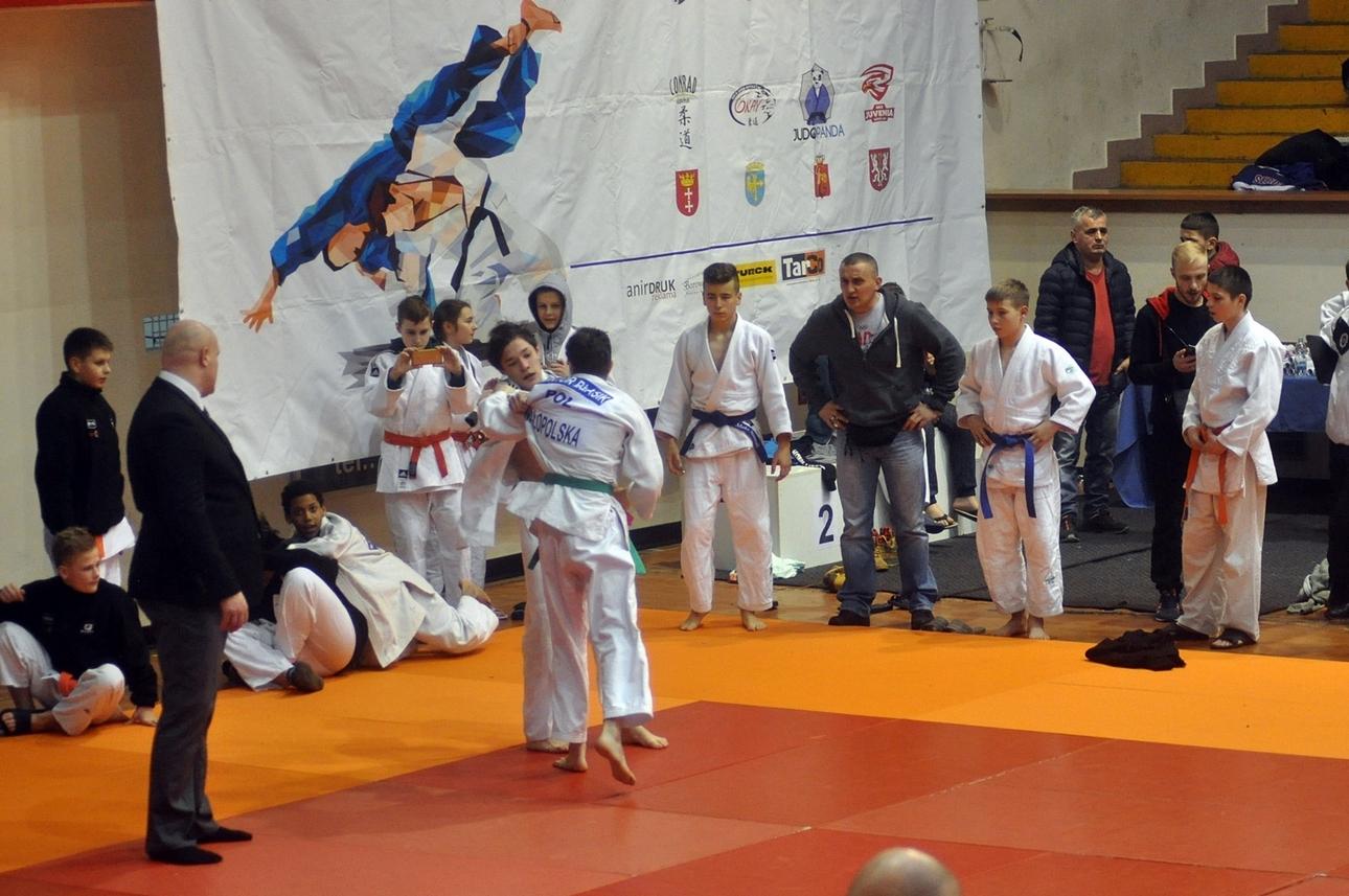 Judocy zdobywają medale w V memoriale Pawła Pytlińskiego w Krakowie.