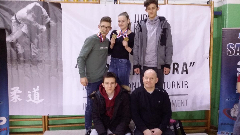 3 złote medale, V i VII miejsce bocheńskich judoków na Międzynarodowym Turnieju Judo w Samoborze na Chorwacji