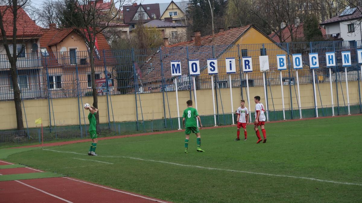 MOSiR Bochnia – Trzciana 2000 1:2 /  I liga okręgowa C1 trampkarzy Wiosna 2018