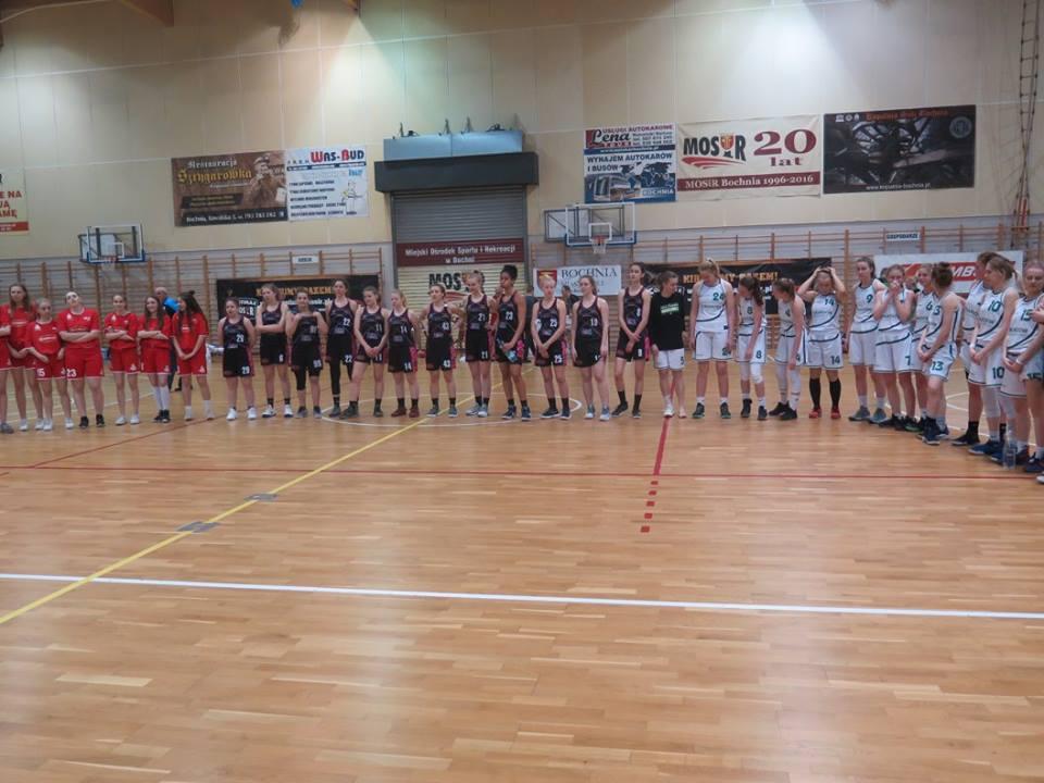 MOSiR Bochnia na III miejscu podczas 1/2 Mistrzostw Polski Juniorek U18K