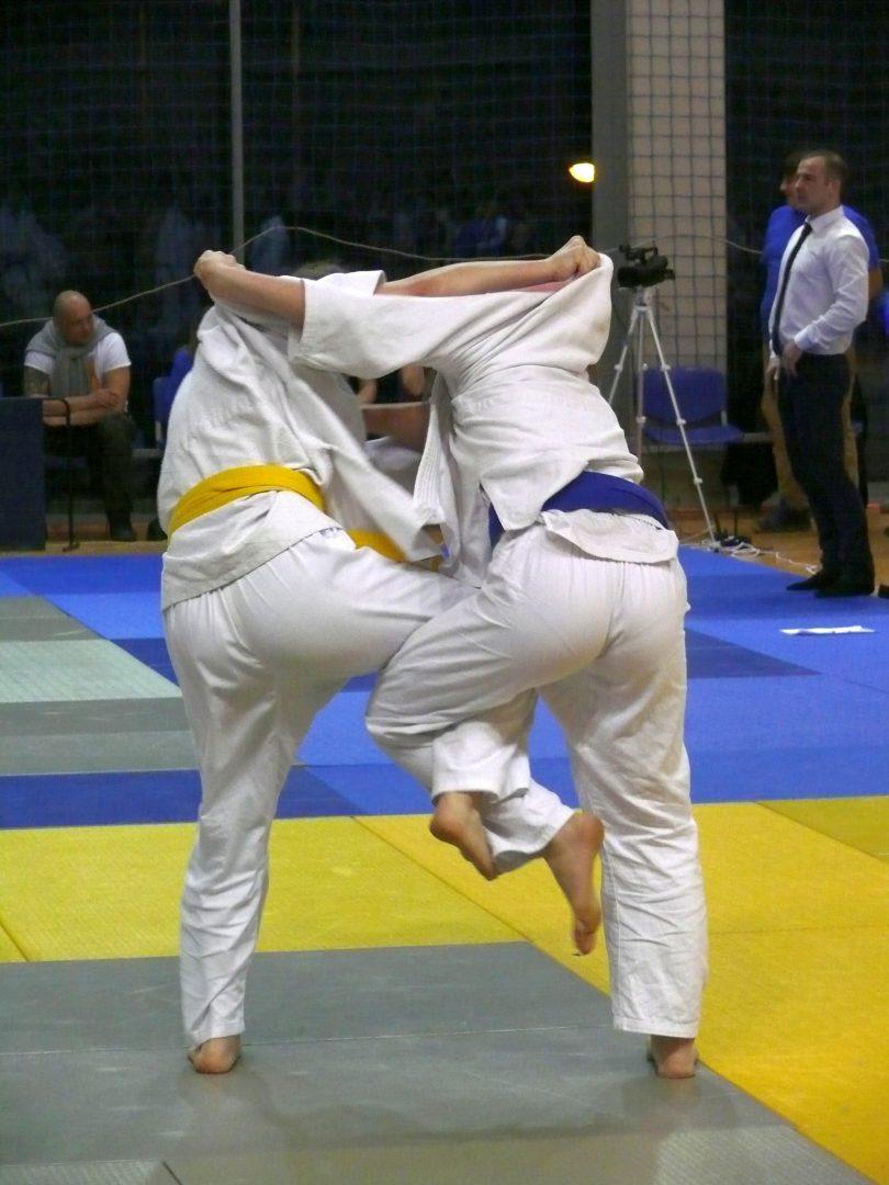 """9 medali bocheńskich judoków na """"International Judo League Szansą dla Każdego"""" w Bytomiu."""