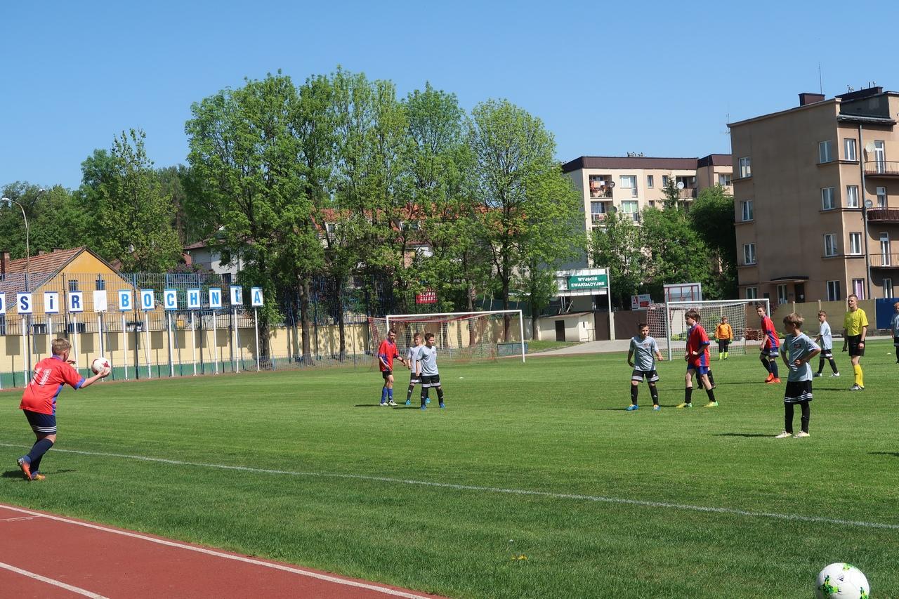Piłkarze MOSiR Bochnia po świątecznym tygodniu, 3-5 maja 2018 r.
