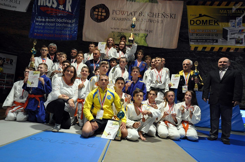 MOSiR Bochnia triumfuje w XXI Międzynarodowym Turnieju Judo w Kopalni Soli Bochnia!!!