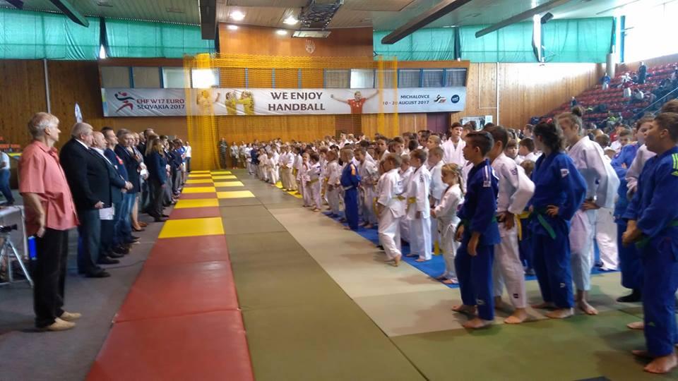 Złoto, srebro i brąz na 48 Międzynarodowym Turnieju Judo w Michalovcach na Słowacji!