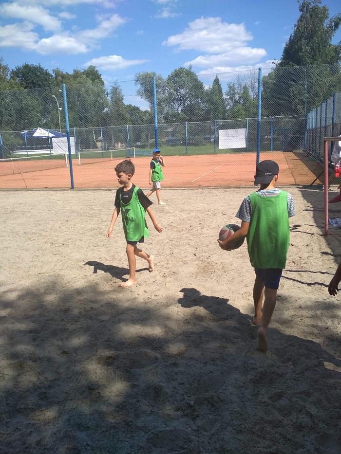 Relacja z obozu młodych piłkarzy MOSiR