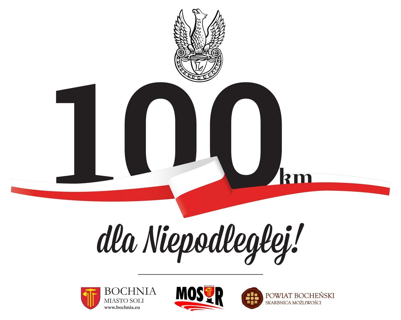 """""""100 km dla Niepodległej"""" 16.09.2018 r. – dziś ostatni dzień zapisów!"""