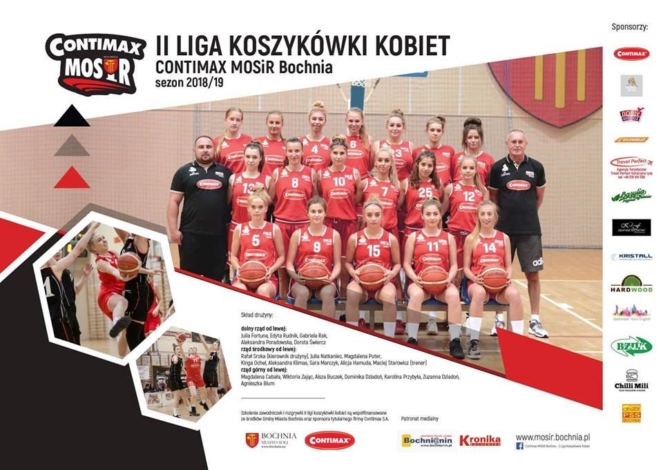 Wisła Kraków – Contimax MOSiR Bochnia 47:40 / II liga kobiet