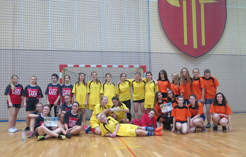 Miejskie eliminacje w halowej piłce nożnej dziewcząt – IMS