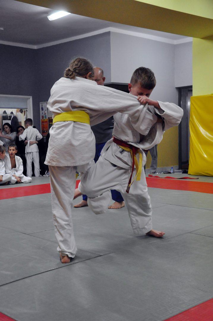 Młodzi judocy rywalizowali na macie.