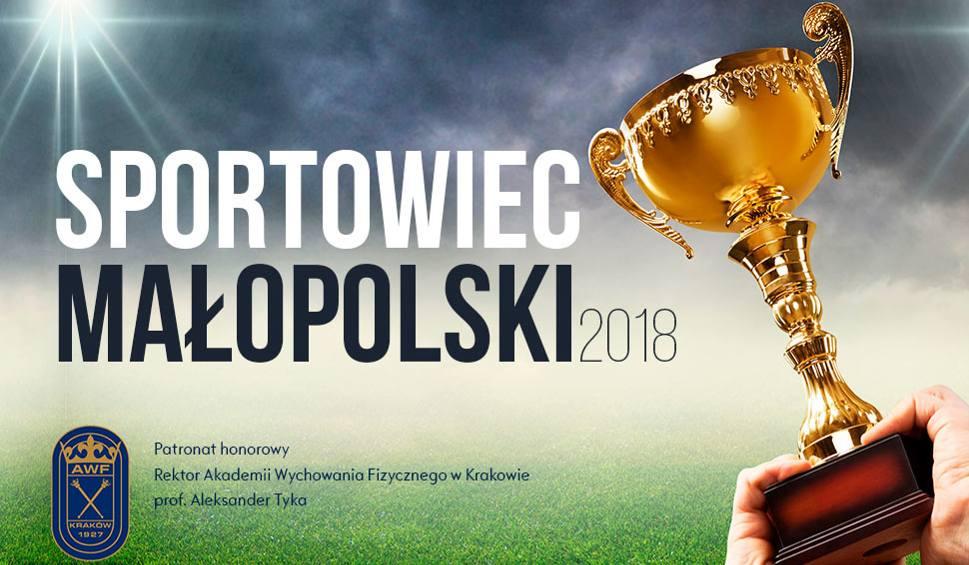 """Trwają zgłoszenia do nominacji w plebiscycie """"Sportowiec Małopolski 2018"""""""