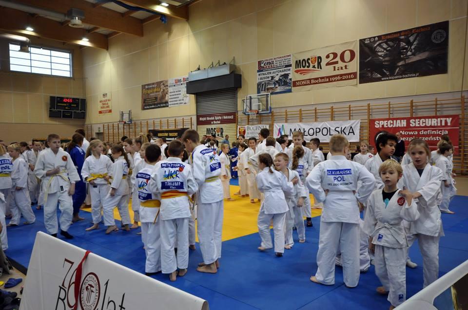 Mikołajkowy Turniej Judo Dzieci, Bochnia 2018 za nami! / wyniki