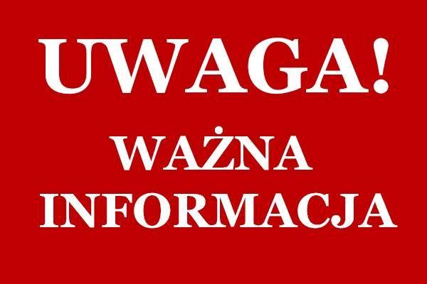 UWAGA – treningi judo grupy III i VI odwołane !!!