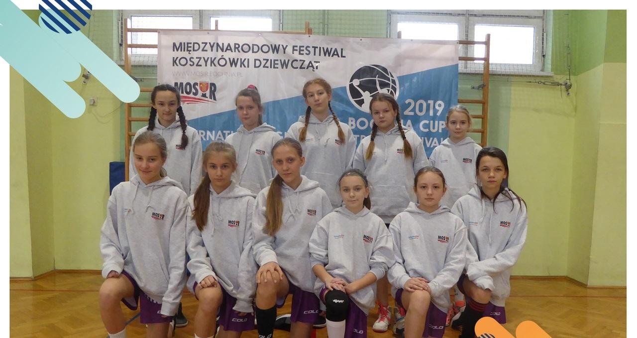 MOSiR Bochnia II – UKS Żak Nowy Sącz 50:39 / III miejsce dziewcząt w lidze małopolskiej