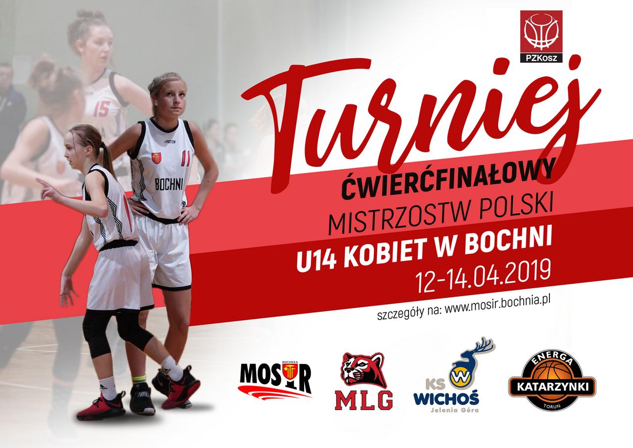 Turniej Ćwierćfinałowy w Koszykówce U14 Kobiet – relacja