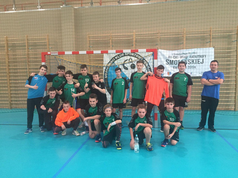 II miejsce Młodzików na I Turnieju ku Czci Ofiar Katastrofy Smoleńskiej w Nowym Sączu!