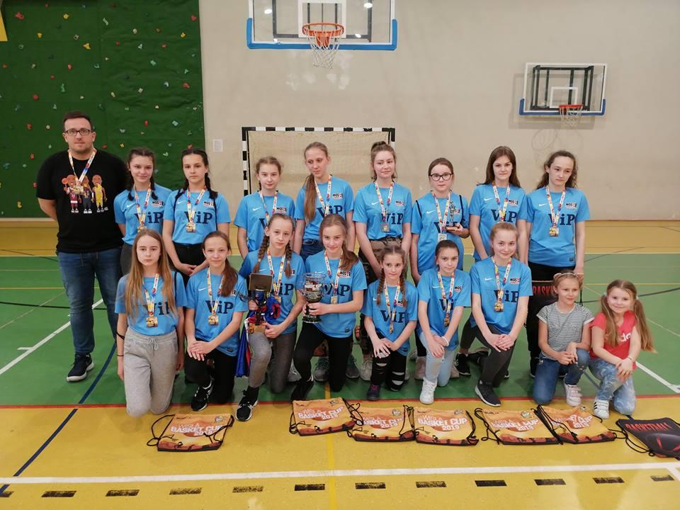 II miejsce bochnianek w IV Międzynarodowym Turnieju Koszykówki Dziewcząt Wisła Basket CUP 2019