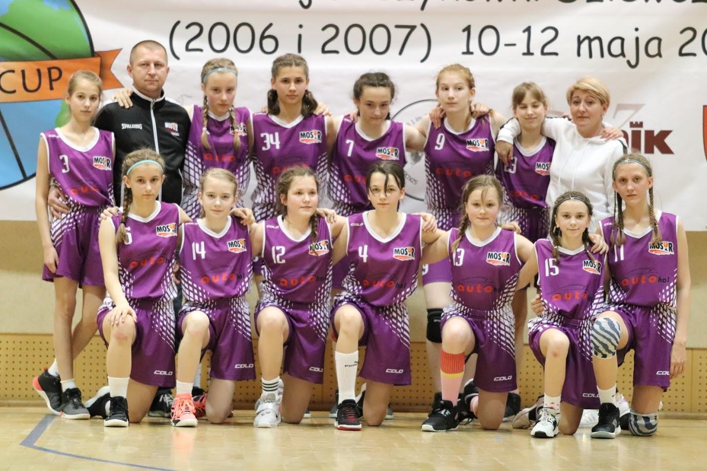 Bochnianki na Międzynarodowym Turnieju Koszykówki Dziewcząt w Kórniku, 10-12.05.2019