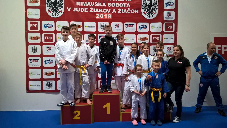 Bochnianie na XLIII Międzynarodowym Turnieju Judo w Rimavskiej Sobocie na Słowacji