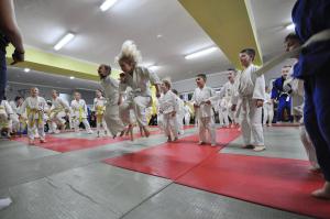 Trening judo dzieci