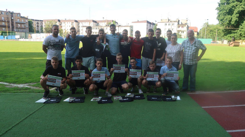 Zakończenie sezonu piłkarskiego tramkparzy