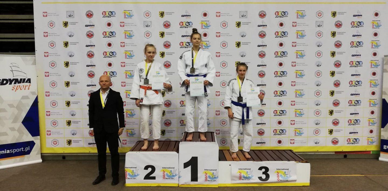 Złoto i dwa srebra na Pucharze Polski Judo w Gdańsku