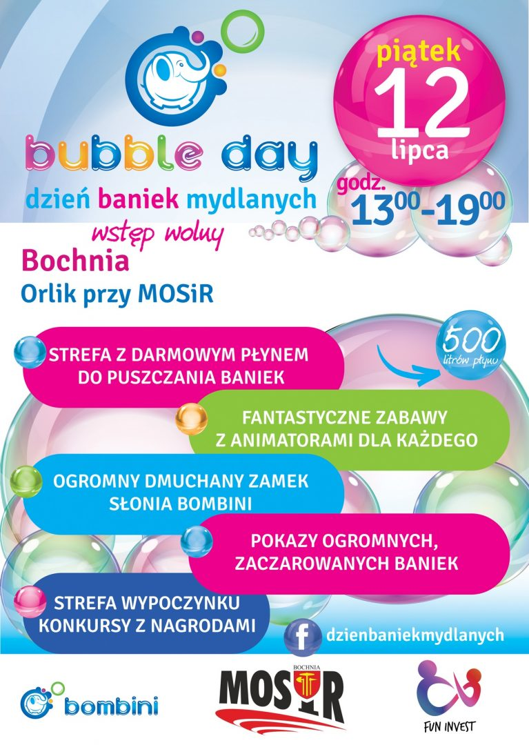 Bubble day – 12 lipca