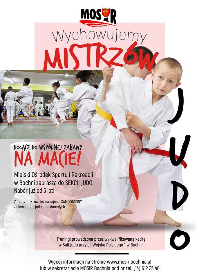 Zapraszamy na obóz dochodzeniowy i do grupy naborowej sekcji judo!