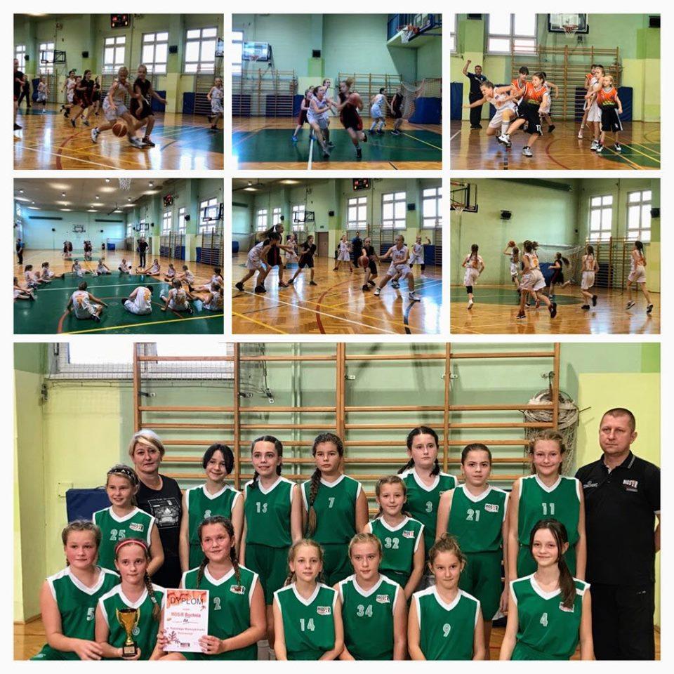 III miejsce MOSiR na Turnieju Koszykówki Dziewcząt, Bochnia 19.10.2019