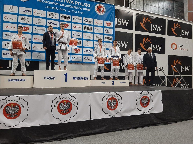 Bocheńscy judocy na Mistrzostwach Polski Młodziczek i Młodzików Jastrzębie-Zdrój, 19-20.10.2019