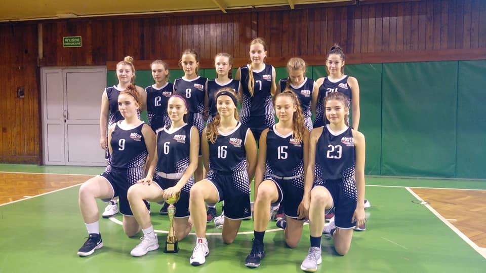MOSiR Bochnia – KS Korona Kraków 83:61 / małopolska liga koszykówki juniorek