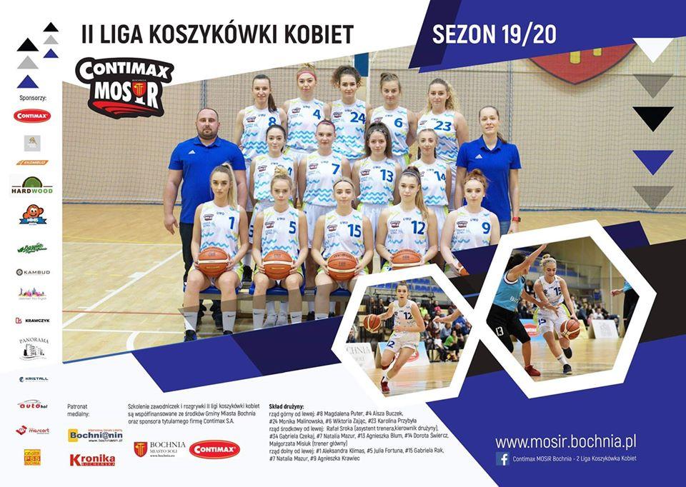 Archiwizacja sezonu 2019/20 II ligi koszykówki- wyniki i relacje z poszczególnych spotkań II