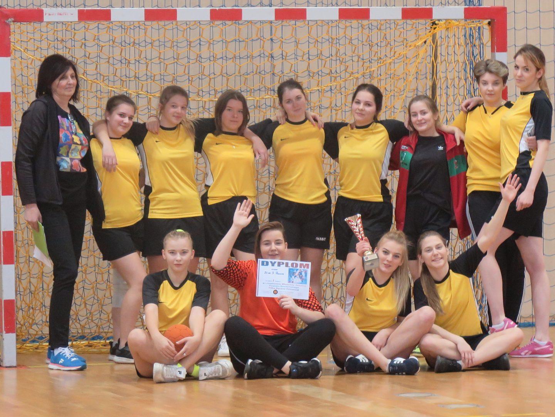 Zawody powiatowe w Piłce Ręcznej Dziewcząt – Licealiada.