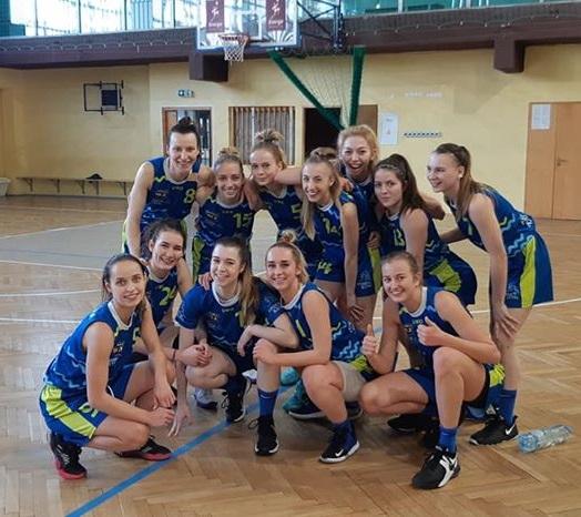 Wygrana w Katowicach! 2 liga koszykówki kobiet