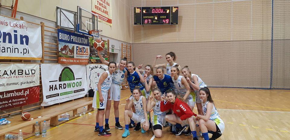 Contimax MOSiR Bochnia – RMKS Rybnik 87:49 / kolejna wygrana w finale A