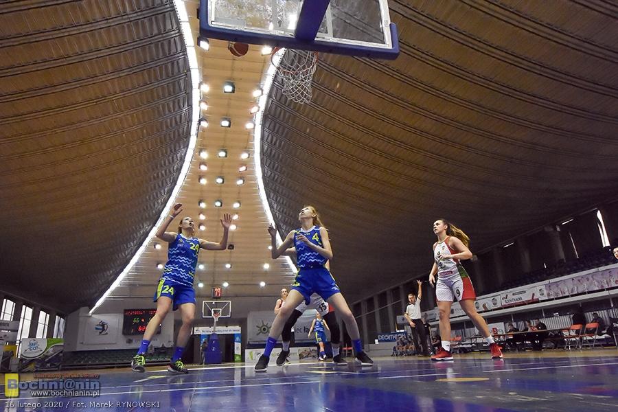 Zagłębie Sosnowiec – Contimax MOSiR Bochnia 76:55 / 2 liga koszykówki kobiet