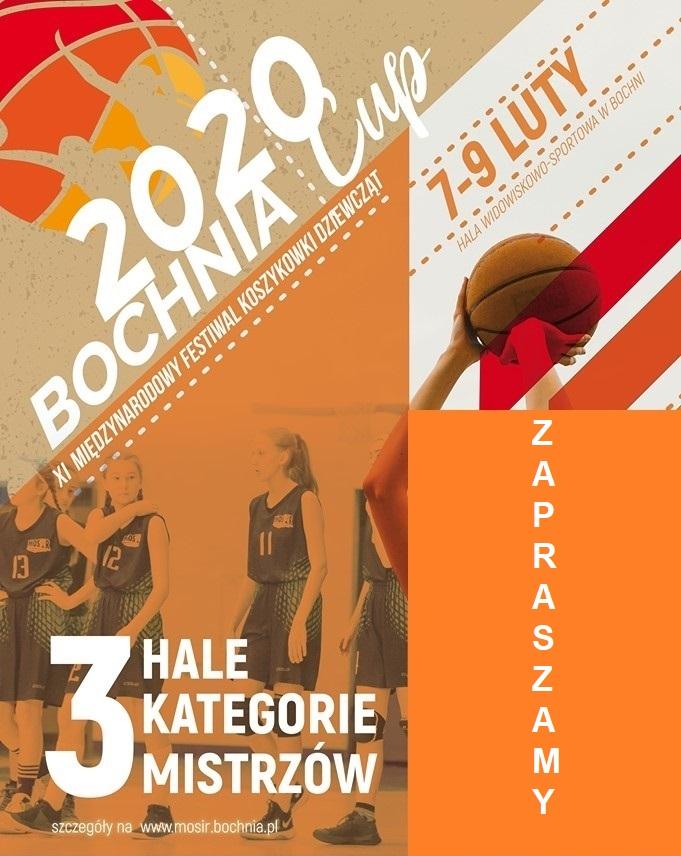 Sportowy weekend z MOSiR Bochnia: Międzynarodowy Festiwal i 2 mecze II ligi, 07-09.02.2020 r.