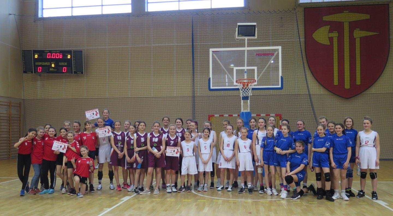 Miejskie Zawody w Mini Koszykówce Dziewcząt – wyniki.