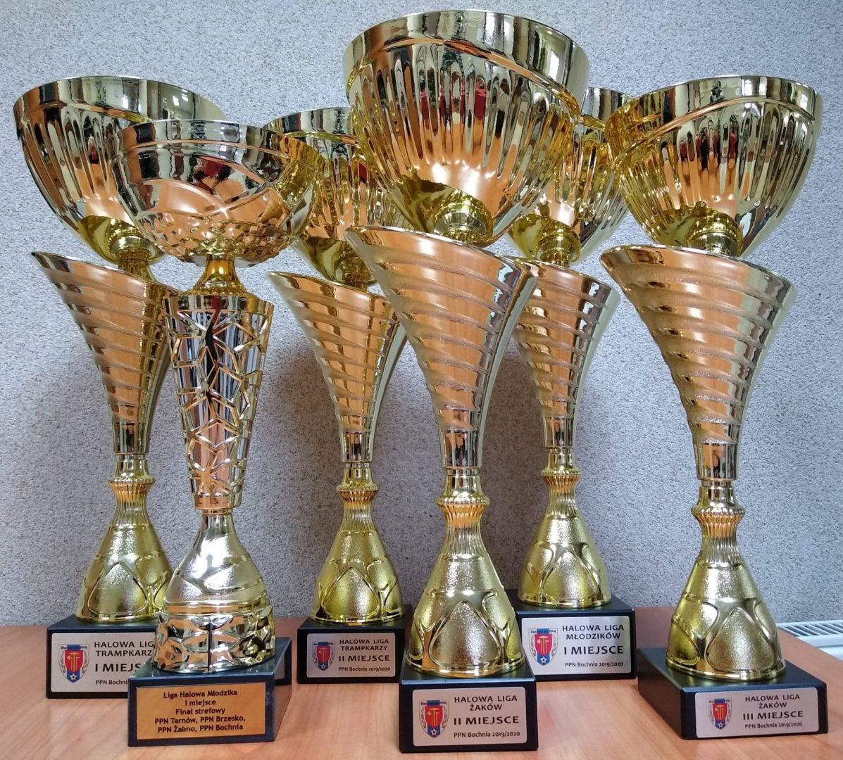 Puchary Żaków i Orlików w Halowej Lidze Piłki Nożnej!