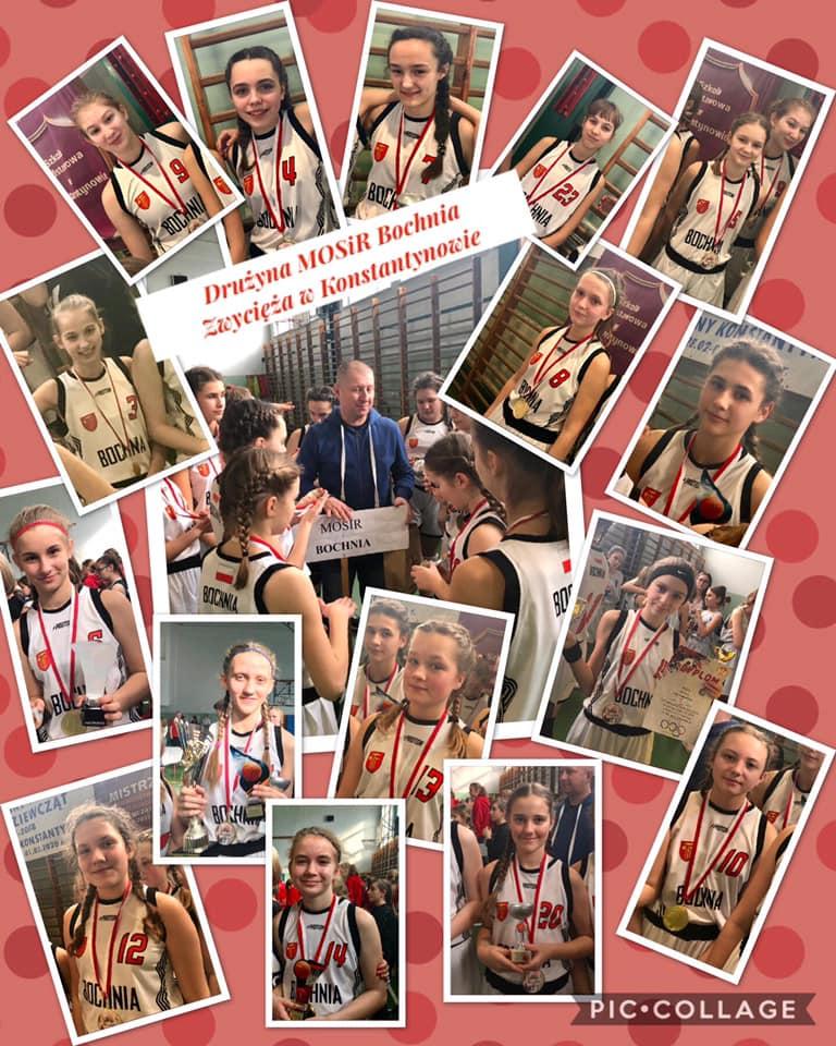MOSiR Bochnia wygrał w Konstantynowie Turniej Koszykówki Dziewcząt U13!