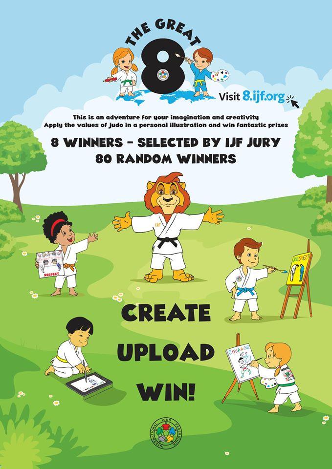 Weź udział w konkursie IJF – International Judo Federation