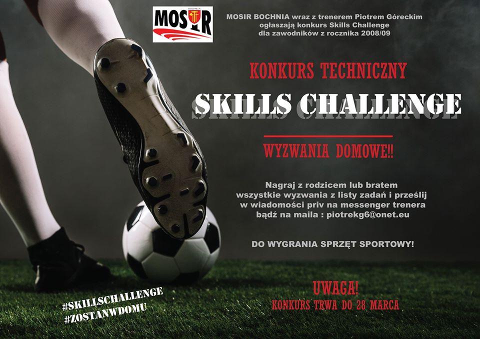 SKILLS CHALLENGE Konkurs Techniczny – wyzwania domowe!